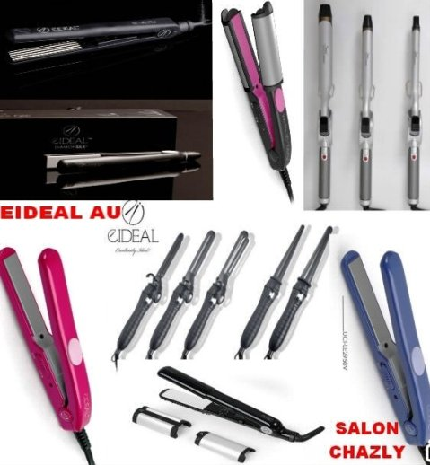 Coating plates for straight and wavy hair by EIDEAL™ Hair Tools