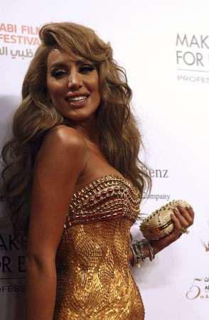 Maya Diab at the Abu Dhabi film festival