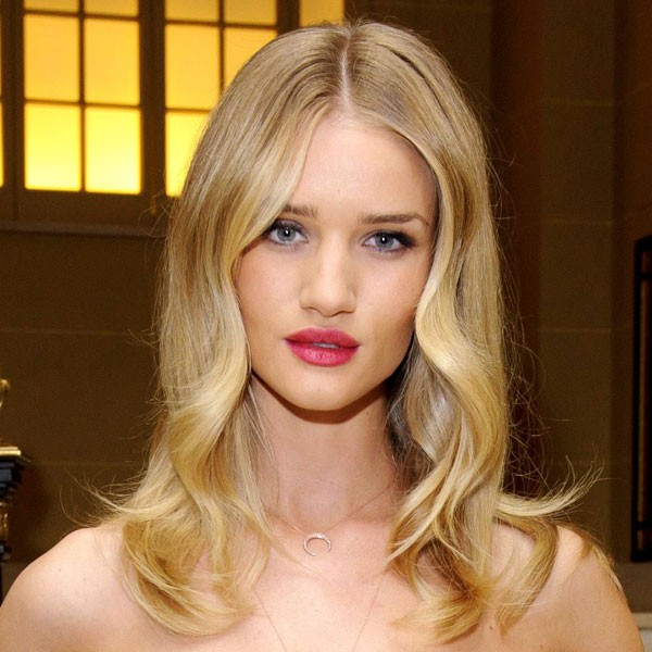 Rosie huntington whiteley hair for