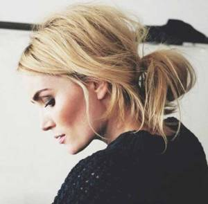 EIDEAL LOW MESSY BUN